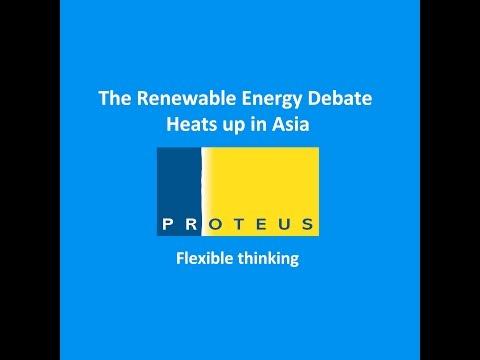 The Renewable Energy Debate Heats up in Asia