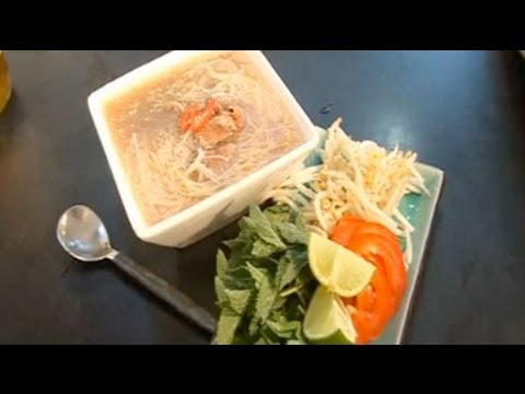 Vietnamese noodle soup Recipe - Five Minute Food