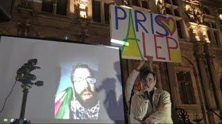 أخبار حصرية - سكان باريس يتضامنون مع حلب ونواب فرنسيون يتوجهون إليها