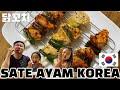 Resep Sate Ayam Korea saus, Dakkochi untuk jualan pakai bahan lokal 100%
