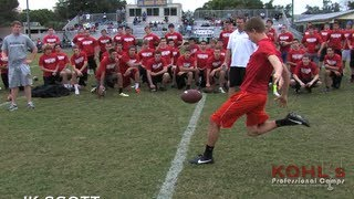 Alabama Football 2014 Commit   JK Scott   Punter