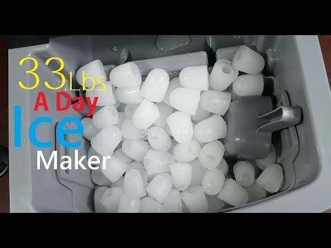 Portable Countertop Ice Maker Test & Review NewAir