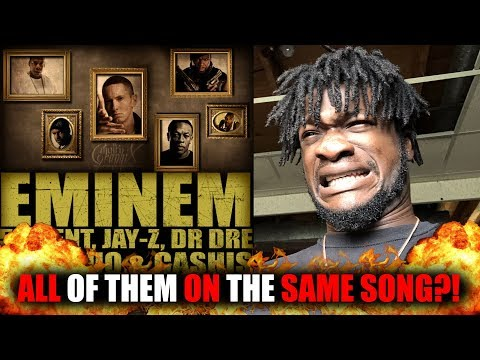 Eminem  Syllables ft 50 Cent, JayZ, Dr Dre, Stat Quo, Cashis REACTION! Revisted!
