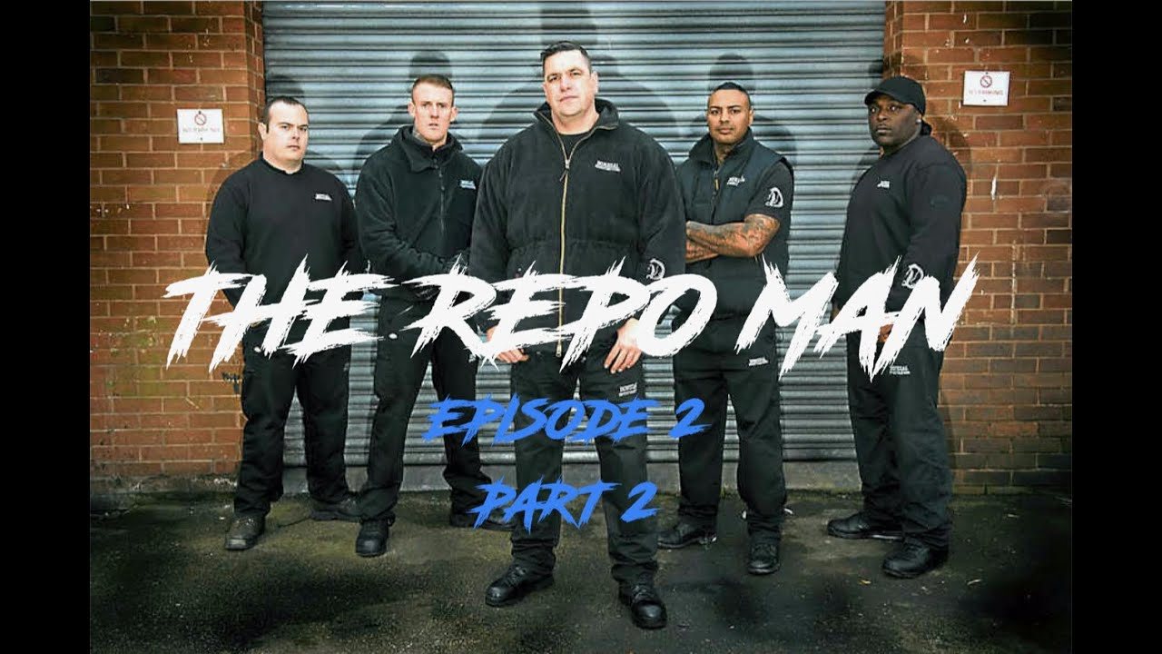 Sean James The Repo Man Channel 4 Car Repossessions Episode