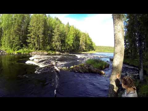 Видеотчет о сплаве по реке Шуе