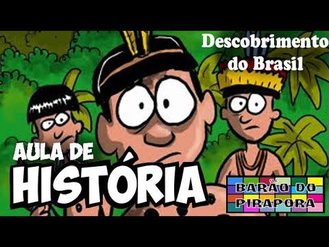 Aprendendo Com Videoaulas Historia Descobrimento Do Brasil Youtube