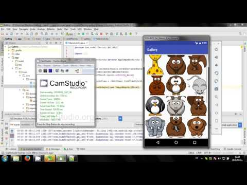 Develop Simple Gallery App In Android Studio