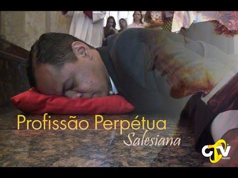 Profissão Perpetua de um novo Salesiano