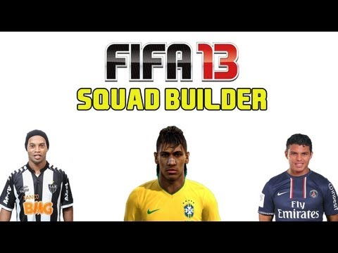 FIFA 13 Ultimate Team - Squad Builder - BRAZIL