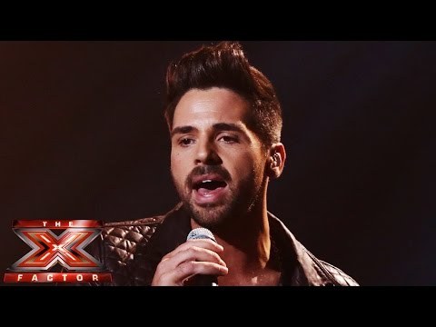 Ben Haenow sings Ed Sheeran's Thinking Out Loud | Live Week 8 | The X Factor UK 2014