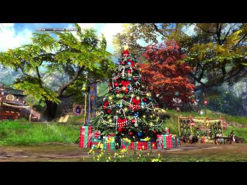 Blade and Soul China Emerald Village Christmas song