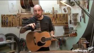 Ael lutheron - Episode cinquième - Amplification d'une guitar acoustique