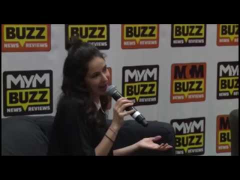 MCM London Comic Con Oct 15 Jessica DiCicco Interview