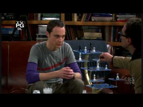 The Big Bang Theory-Leonard Sucking In Different Levels[HD]