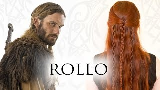Vikings Hair Tutorial for Men - Rollo Lothbrok