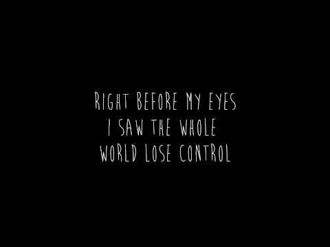 Right Before My Eyes - Cage the Elephant (lyrics)