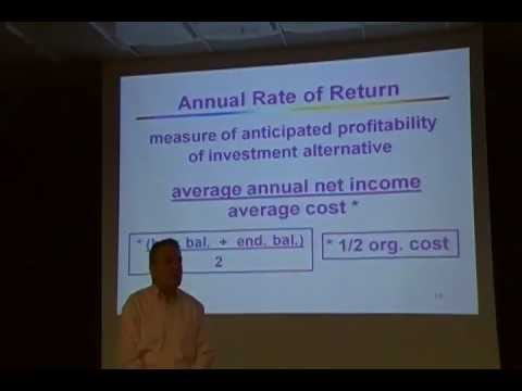 Chap 26 Lecture: Capital Budgeting - YouTube