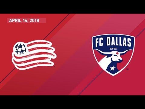 HIGHLIGHTS: New England Revolution vs. FC Dallas   April 14, 2018