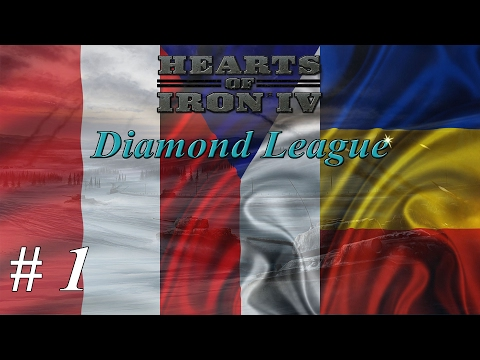 Let's play Hearts of Iron IV Multiplayer - Diamond League: Part 1 The Pre-War |