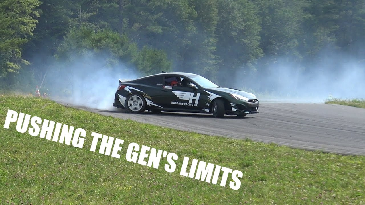 Shredding The Genesis Coupe
