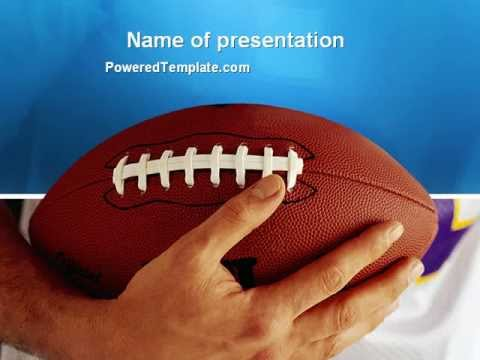 American football ball and rugby ball powerpoint template by american football ball and rugby ball powerpoint template by poweredtemplate toneelgroepblik Image collections