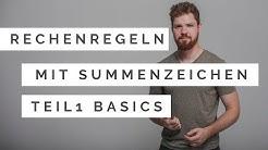 Rechenregeln mit Summenzeichen (Teil 1): Grundlagen