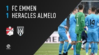 FC Emmen - Heracles Almelo | 10-03-2019 | Samenvatting