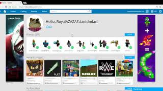 PEOPLE HAVE MINE AND MEWIN HDI'S YT USER ON ROBLOX!?!?!?