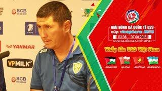HLV U23 Uzbekistan thừa nhận sẽ khó có khả năng thắng U23 Việt Nam | VFF Channel