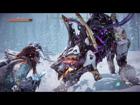 HZD: The Frozen Wilds - PS4 - Tutorial - Improved Icerail (Blind, Ultra Hard)