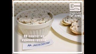 ПП паштет из куриной грудки - ПП РЕЦЕПТЫ: pp-prozozh.ru