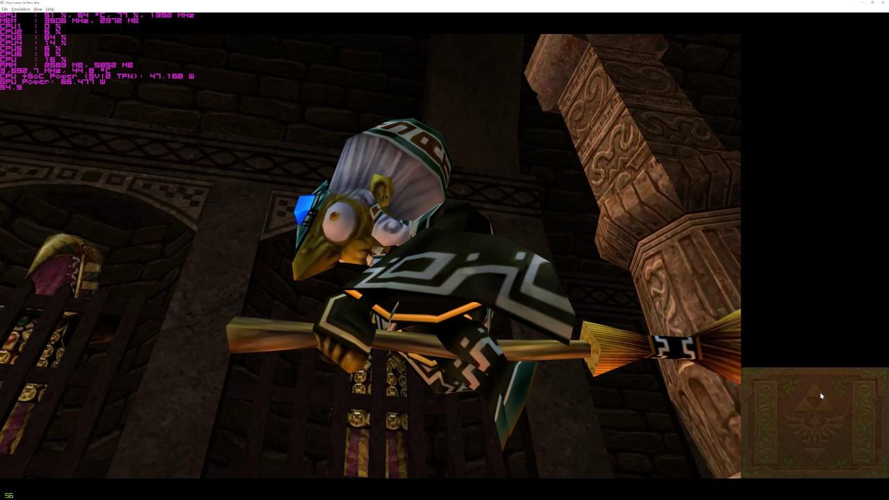 The Legend of Zelda Ocarina of Time 3D 4k 60fps Citra xBRZ + Reshade GTX  960 Ryzen 5 1600