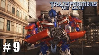 Transformers: The Game - Xbox 360 / Ps3 Gameplay Playthrough Decepticon Campaign PART 9