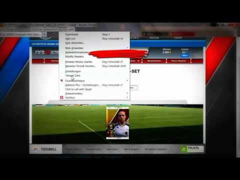 Fifa 12 Ultimate Team   Pack Glitch Hack   Video