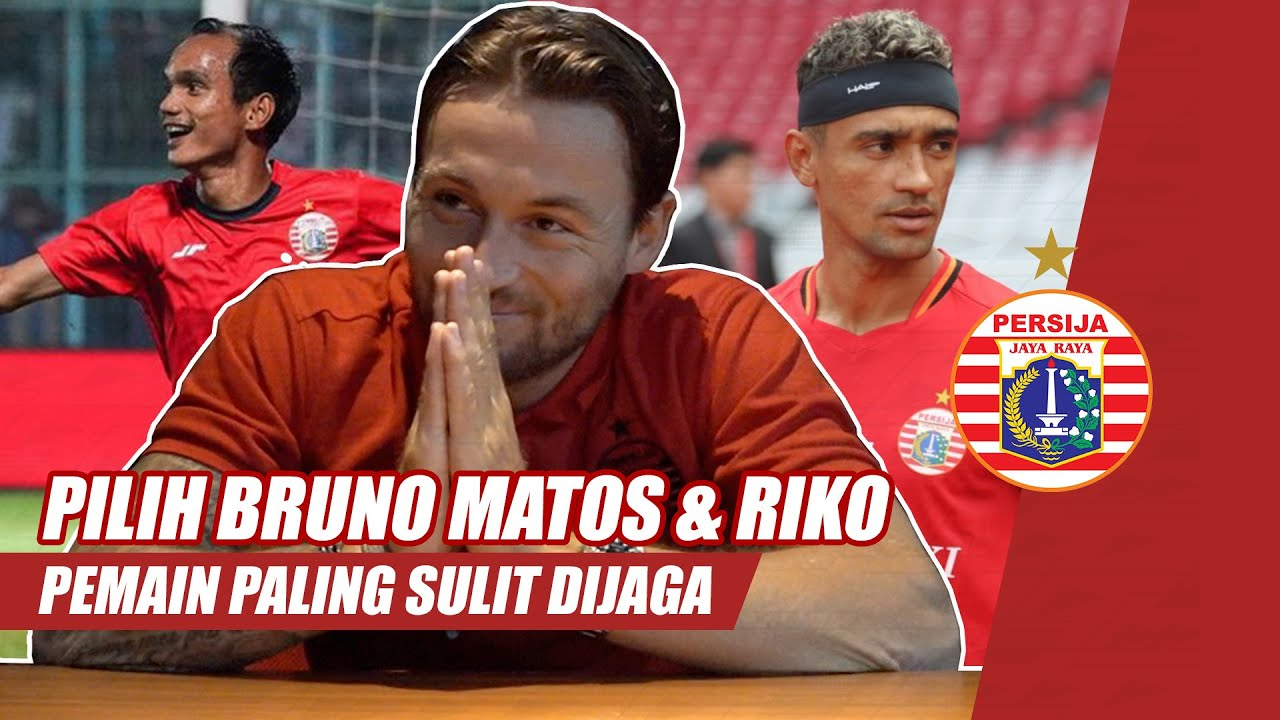 Riko dan Bruno Matos Jadi Pemain Yang Paling Sulit Dijaga Marc Klok | Tanya Gue