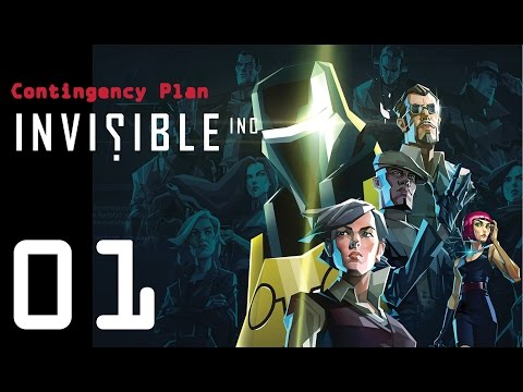 Invisible Inc. Contingency Plan 01 - Two new chicks!