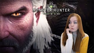 THE WITCHER COLLAB | Monster Hunter World Iceborne Trailer Reaction