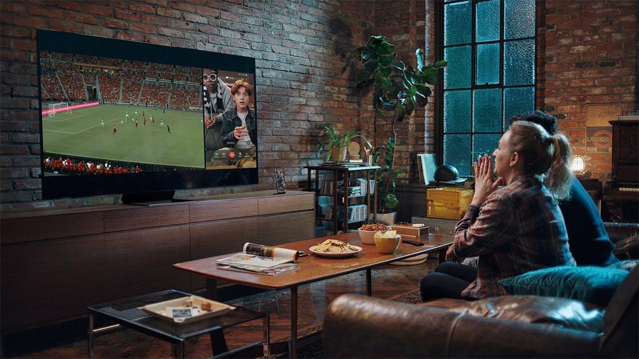 Multi View: Enjoy Together, Better Together (Soccer) | Samsung