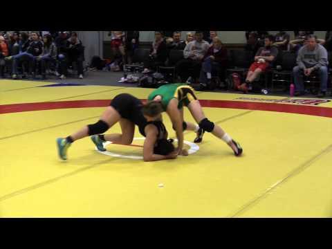 2014 Wesmen Open: 55 kg Isabella Fernandez vs. Krystin Paquette