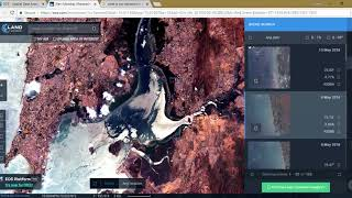 Land Viewer: Download Latest Satellite Imagery and Analysis Spectral Indices in your Browser