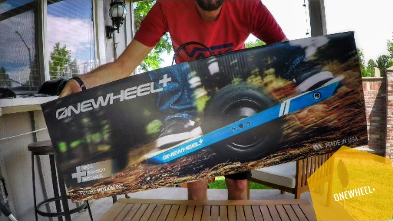 OneWheel+ Unboxing & First Look