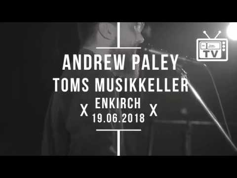 Ankündigung: Andrew Paley - Live @ TOMS Musikkeller, Enkirch 19.06.2018