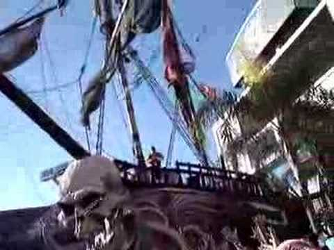 tampa bay bucs pirate ship youtube tampa bay bucs pirate ship