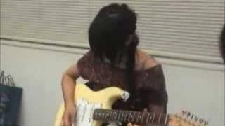 リア・ディゾンleahdizonギターに挑戦「Real G-ZONE」7 http://www.leah...