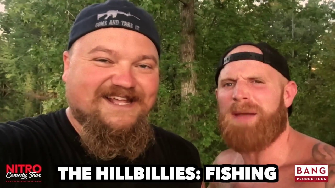 THE HILLBILLIES: FISHING! CATFISH COOLEY & GINGER BILLY LOL FUNNY LAUGH COMEDY