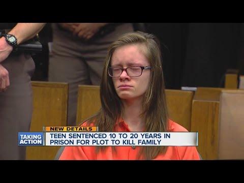 Teen sentenced to prison for murder plot