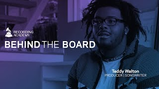 Producer Teddy Walton On Working With Kendrick Lamar & Making A Great Track | Behind The Board
