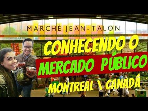 MERCADO PUBLICO NO CANADÁ - MONTREAL
