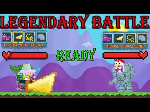LEGENDARY BATTLE VS TERY! | Growtopia