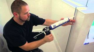 Frameless Shower Door Install - Knee-Wall / Buttress / Tub Deck Configuration | Illusion by Coastal